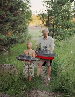 Jukka Kuusemaa ja Markus. Masters. © Veli Granö, 2006