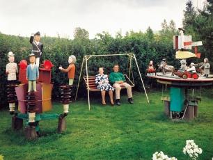 Hilma ja Väinö Ylé, Kodisjoki © Veli Granö 1985