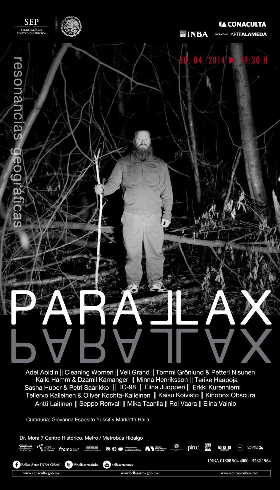 parallax meksiko kutsu