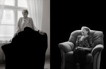 Kahdet jäähyväiset (I jaII)/Double Goodbyes (I and II), (Anne), 2013 Valokuva, pigmenttivedos, 65x47cm, 1/5, Persona, Veli Granö