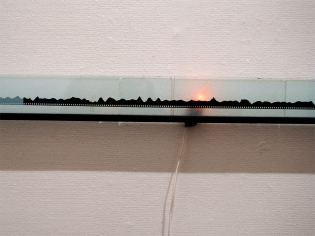 Etsijät, Searchers, installation view: Kunsthalle Helsinki, Finland, 1995
