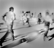 Kuwait 1991, valokuvakollaasi lehtikuvasta, kirlianvalokuva, 2017